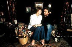 Serge Gainsbourg and Jane Birkin looking soo in love and super cool.