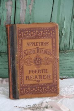 Image result for school books from the 1800s