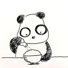 【一日一大熊猫】2017.5.17 僕は2年前までかなりの低血圧だったのだけど、 自転車通勤の距離が往復45キロから4キロに減って 調理するものに大量の塩をかけて食べてたら 血圧が普通になったよ。 このままいくとすぐに高血圧になるね。 #パンダ #世界高血圧デー