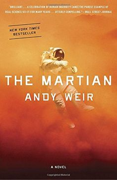 I think that The Martian by Andy Weir is amazing! The Martian is about astronaut Mark Watney . The Martian Book, The Martian Andy Weir, Great Books, New Books, Books To Read, Children's Books, Comic Books, Reading Lists, Book Lists