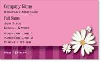 daisy floral Premium Business Cards
