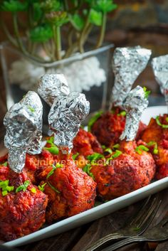 Chicken Lollipop Recipe - Fun Love and Cooking - Indian - Chicken Chicken Recipes Halal, Chicken Snacks, Chicken Appetizers, Yummy Appetizers, Fruit Recipes, Indian Food Recipes, Snack Recipes, Cooking Recipes, Healthy Recipes