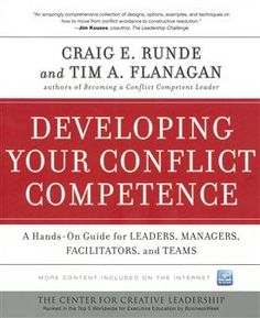 Developing Your Conflict Competence: A Hands-On Guide for Leaders, Managers, Facilitators, and Teams- Whether you are a manager, team leader, trainer, or simply interested in #self-improvement, this is a must-have book for enhancing your conflict competence. Sale price $25.00