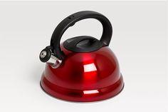Red Whistling Kettle Kettle, Capri, Kitchen Appliances, Red, Products, Diy Kitchen Appliances, Tea Pot, Home Appliances, Boiler
