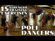 15 Strength Exercises For Pole Dancers: Beginner & Intermediate - YouTube