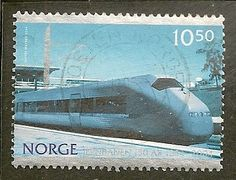 Norway Scott 1408 Train Used - bidStart (item 53911341 in Stamps, Europe, Norway)