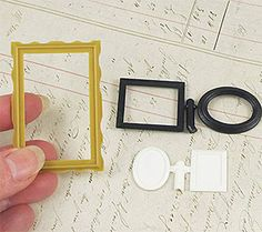 Set of Dollhouse Picture Frames