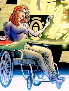 Barbara Gordon a.k.a. Oracle