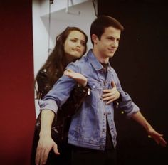 Dylan Minnette and Katherine Langford..I don't know why, but I ship them so much