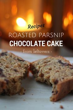 Roasted Parsnip Chocolate Cake - From Leftovers. A delicious sweet ...