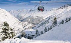 Obergurgl ski area, Austria - Top 10 early season ski resorts, Europe