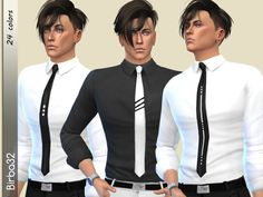 The Sims Resource: Bill Shirt by Birba32 • Sims 4 Downloads