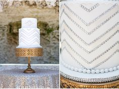 Great Gatsby and Art Deco Wedding Ideas / Jamilah Photography / J Morgan Flowers / Vizcaya Museum & Gardens / via StyleUnveiled.com