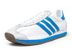 アディダス adidas COUNTRY OG WHT/BLU