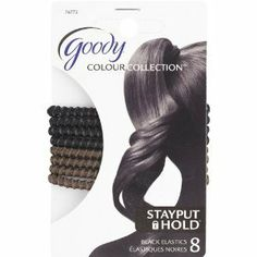 GDY COLOUR METAL ELASTIC BLACK by GOODY PRODUCTS (NEWEL). $6.99. GDY COLOUR METAL ELASTIC BLACK