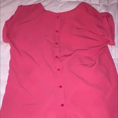Amazingly cute top!  Medium Japna size medium. Pics don't do it justice!  Button back detail. Tops Blouses