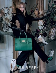Cara Delevingne Mulberry Fall Campaign