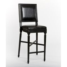 black bar stools - kinda like this too... but the high back... might not work?
