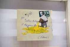 """Correspondencia"" de Manuel Antonio Domínguez. Exposición colectiva ""Dibujo expandido. Colección DKW"" Museo ABC Madrid. #arte #art #artecontemporáneo #contemporaryart #Dibujo #Arterecord 2015 https://twitter.com/arterecord"