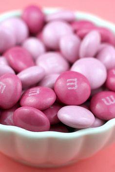 Pink M &M's
