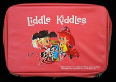 VTG 1965 LIDDLE KIDDLES PINK CARRY CASE BURNIE CALAMITY