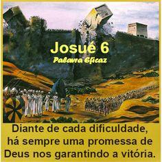 Palavra e Ação : As Muralhas de Jericó– Josué 6                                                                                                                                                      Mais