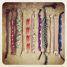 Friendship bracelets :)