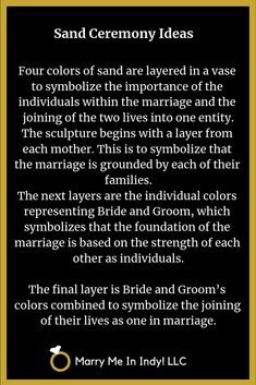 Unity Sand Ceremony scripts and ideas for your wedding. Wedding Ceremony Script, Unity Ceremony, Wedding Ceremonies, Irish Wedding, Church Wedding, Our Wedding, Wedding Stuff, Universal Life Church, Unity Sand