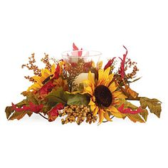 Fall Floral Centerpieces at Big Lots.