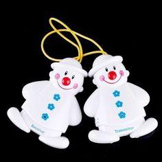 อย่าช้า  Snowman Wireless Baby Cry Monitor White (Intl)  ราคาเพียง  379 บาท  เท่านั้น คุณสมบัติ มีดังนี้ No wires or cables required Portable Wireless identified digital avoids wrong alarm Compact size and light weight