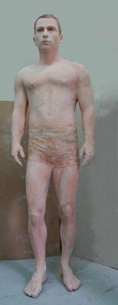 """Saatchi Art Artist Vasiliki Perka; Sculpture, """"Young man"""" #art"""