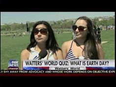 Watters' World Quiz: Whats Is Earth Day? - Watters World