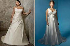 Decotes para vestido de noivas gordinhas  [9]