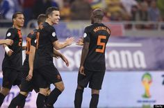 Robin Van Persie And Holland Team-Mates Accused Of Partying With Prostitutes Nigel De Jong, Robin Van, Van Persie, World Cup Qualifiers, Holland, Party, The Nederlands, The Netherlands, Parties
