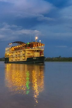 What to Expect on an Amazon River Cruise – Life on the River | The Planet D Adventure Travel Blog | An Amazon River Cruise isn't your typical cruise. We now know having just returned from a Caribbean Cruise. While many other cruises are all about creating entertainment and activities, an Amazon River Cruise is about experiencing life on the world's largest river and exploring the culture, wildlife and beauty of the world's largest rainforest.