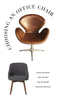 tan office chair