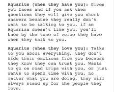 This is a little too accurate. Aquarius Lover, Leo And Aquarius, Aquarius Traits, Astrology Aquarius, Aquarius Quotes, Aquarius Woman, Zodiac Signs Aquarius, Zodiac Horoscope, Zodiac Facts