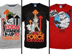 Star Wars Stand Up To Cancer Tees of the Day