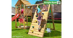 Modułowy plac zabaw w ogrodzie. Każdy z tych modułów można dobierać oddzielnie w naszym sklepie.  Fot. http://1.static.s-trojmiasto.pl/