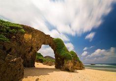 Ahaw Arch - Located in Nakabuang Beach, Malakdang, Sabtang Islands, Batanes Philippines