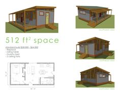 Reclaimed Space prefab cabins