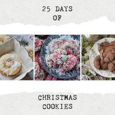 25 Days of Christmas Cookies – 2020 Edition