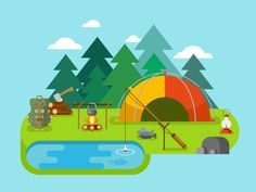 Outdoor Recreationm, camping by Anton Frizler (Kit8)