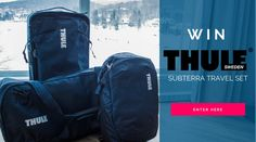 Enter to win a Thule Subterra Travel Set with Easy Planet Travel! Enter here: https://www.easyplanettravel.com/giveaways/