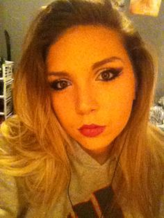 I forgot how to do this makeup! #hatinglife