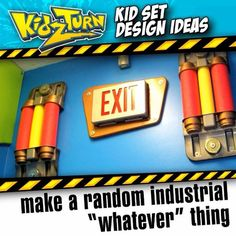 """Make a random industrial """"whatever"""" thing it's a cool & cheap wall element…"""