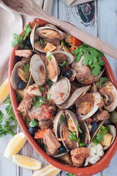 One of the most traditional and delicious Portuguese dishes in restaurants around the world. A unique and wonderful combination of marinated pork and clams.