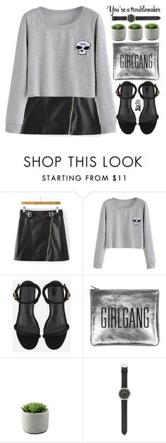 """troublemaker"" by m-zineta on Polyvore featuring J.Crew"