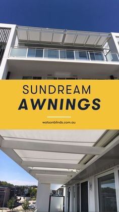 Sundream Awnings are a highly versatile and robust awning which runs in sturdy aluminium guide tracks that are designed for durability and maintenance free operation. Modern Window Treatments, Sliding Door Window Treatments, Bathroom Window Treatments, Sliding Doors, Block Out Curtains, Bay Window Curtains, Kitchen Shades, Kitchen Blinds, Modern Blinds