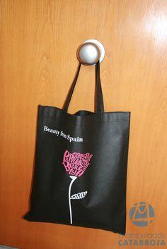 bolsa de tela impresa